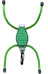 Nite Ize BugLit Flashlight Green Legs/White LED Green